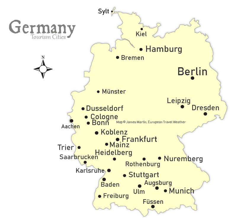 Weather Map Of Germany.Germany Travel Weather And Climate When To Go To Germany